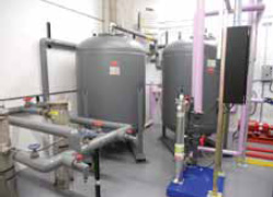The treatment system is carefully designed to maintain the same heat transfer efficiency as with potable water.